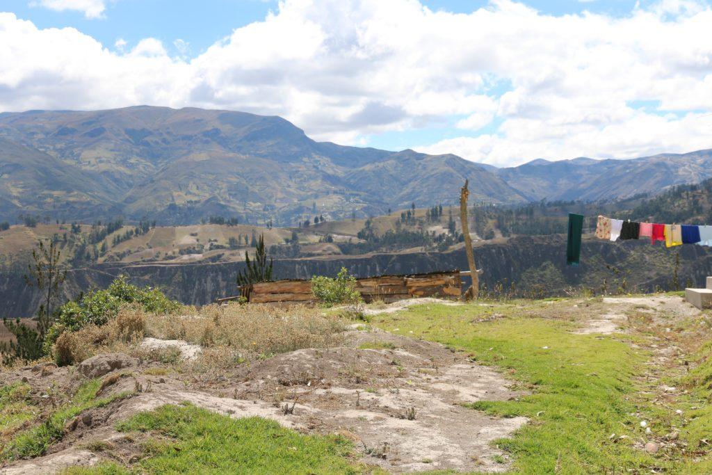 Poranek w Chugchilán